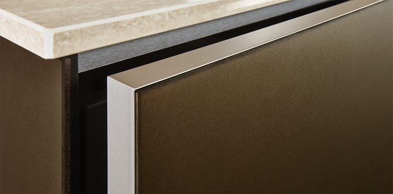 Premium-Kueche-NX902-Glas-matt-bronze-Front-Zoom