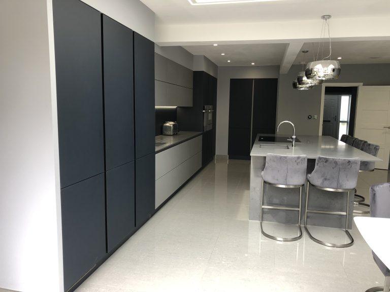 Next 125 Glass Indigo Blue & Agate Grey