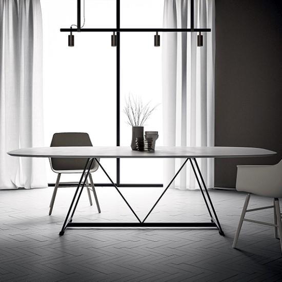 Radar Ovale Table