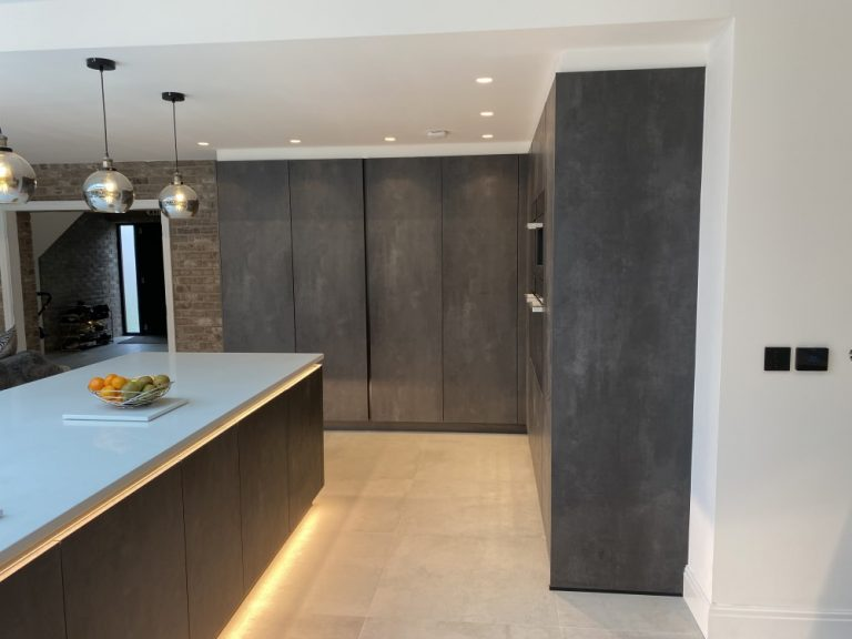 Schuller Concrete Anthracite Effect