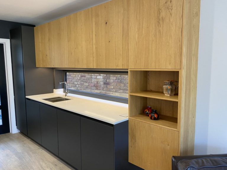 Schuller Lava Black & Knotty Oak
